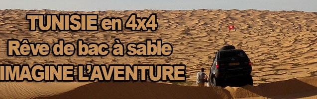 Tunisie en 4×4 : Rêve de bac à sable avec IMAGINE L'AVENTURE