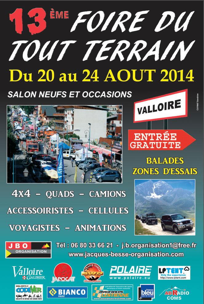 Foire Valloire 2014 20-24 Août