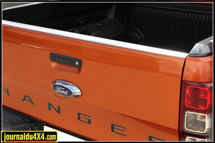 Protection de dessus de portillon arrière pour FORD RANGER BT50