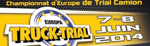 Europa Truck Trial, Championnat d'Europe de Trial Camion 7-8 juin 2014
