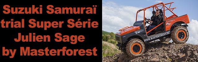Suzuki Trial Masterforest de Julien Sage