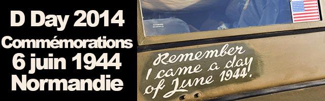 D Day 2014 Mémoire, paix et Jeep