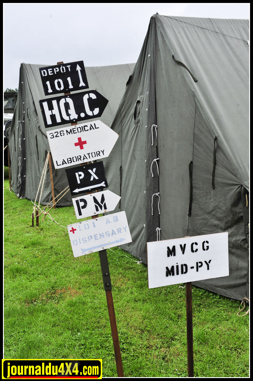 On comptait une vingtaine de camps reconstitués sur les 100 kilomètres de côte Normande cette année