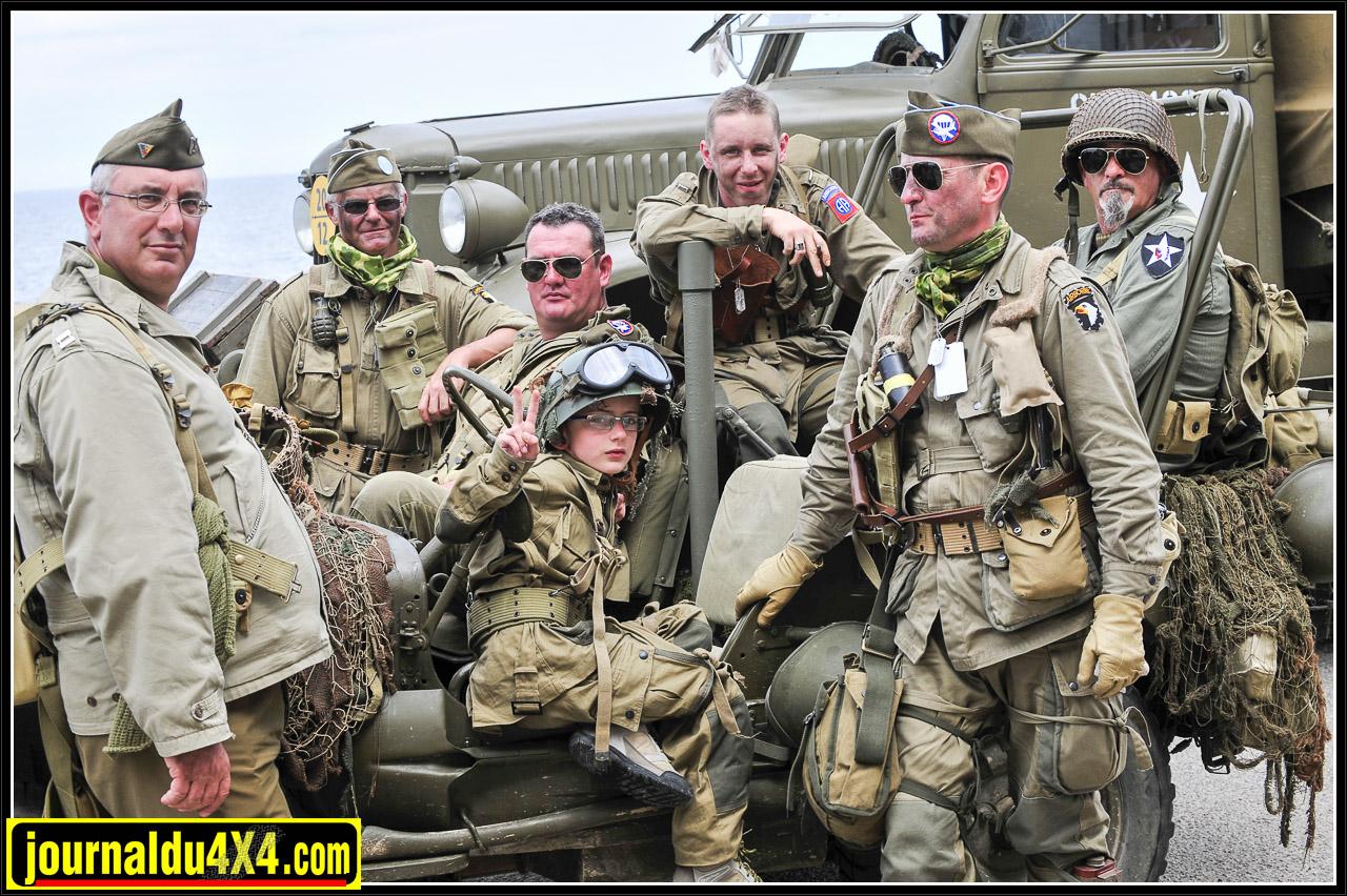 La diversité des uniformes et leur réalisme donnaient une idée de l'implication mondiale de ce dernier grand conflit du 20e siècle.