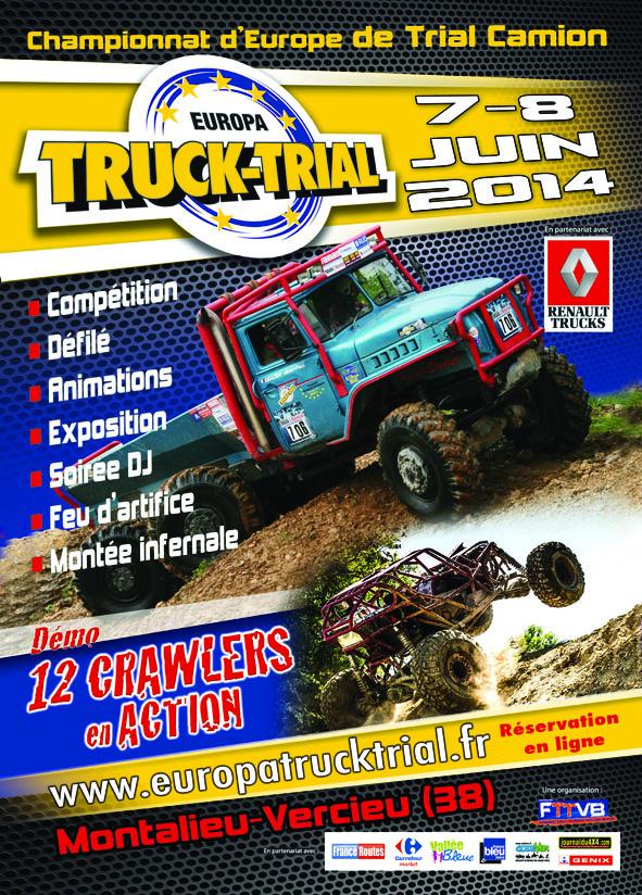EUROPA TRUCK TRIAL - 7 et 8 JUIN 2014