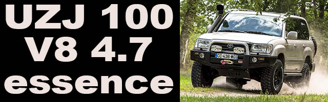UZJ 100 Land Cruiser V8 essence