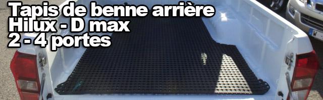 TAPIS DE BENNE ARRIERE TOYOTA HILUX – ISUZU D-MAX