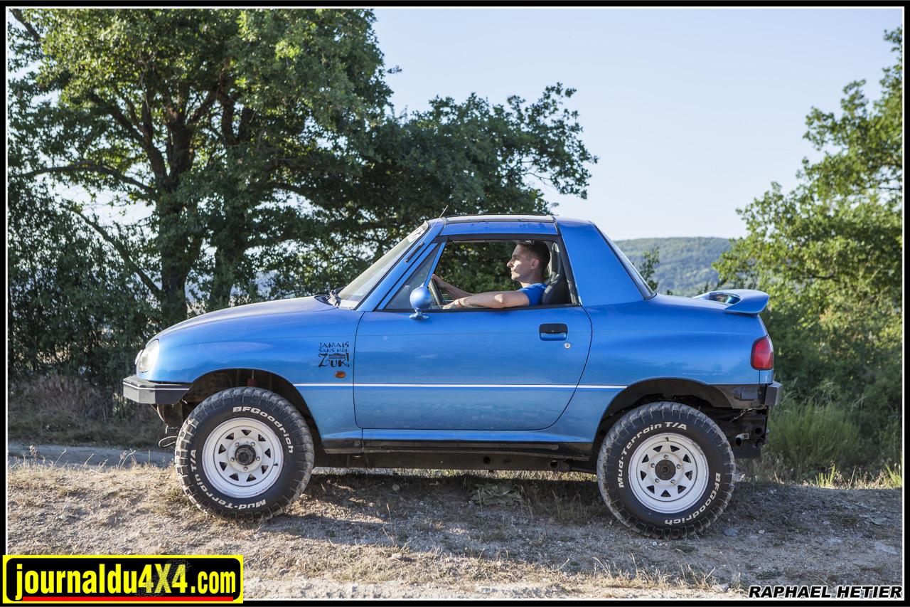 X90 Suzuki préparé tout terrain