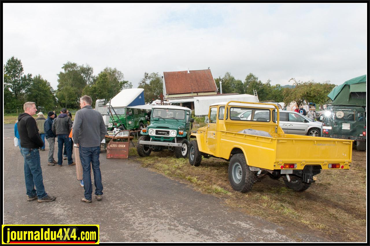 Carlo von Keitz proposait de restaurer la carrosserie des Land Cruiser Plus d'informations sur: www.landcruiser-restaurierung.de