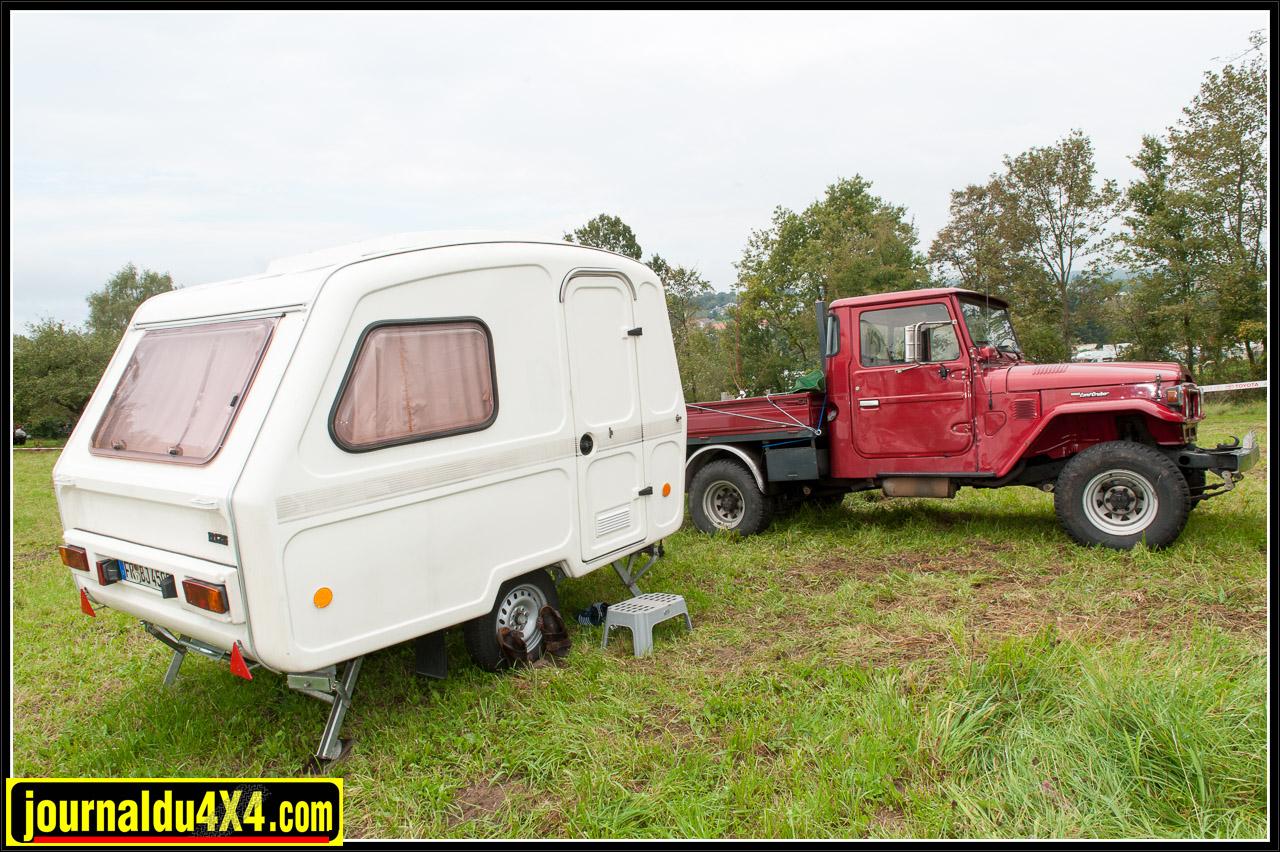 Même la caravane est vintage