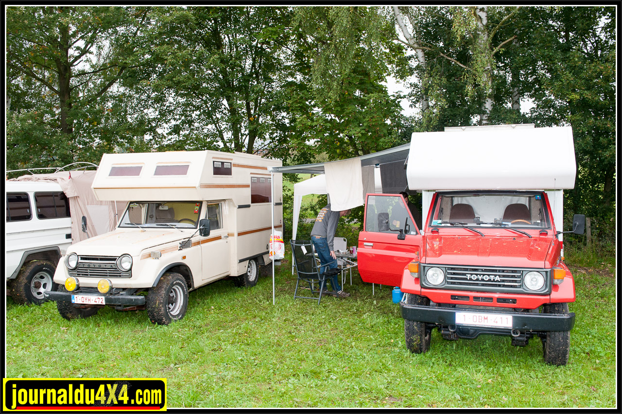 FJ55 camping car, plutôt rare et insolite