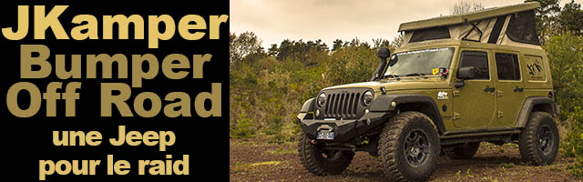 JKamper la Jeep du voyageur