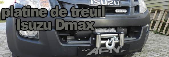 Platine treuil Isuzu Dmax