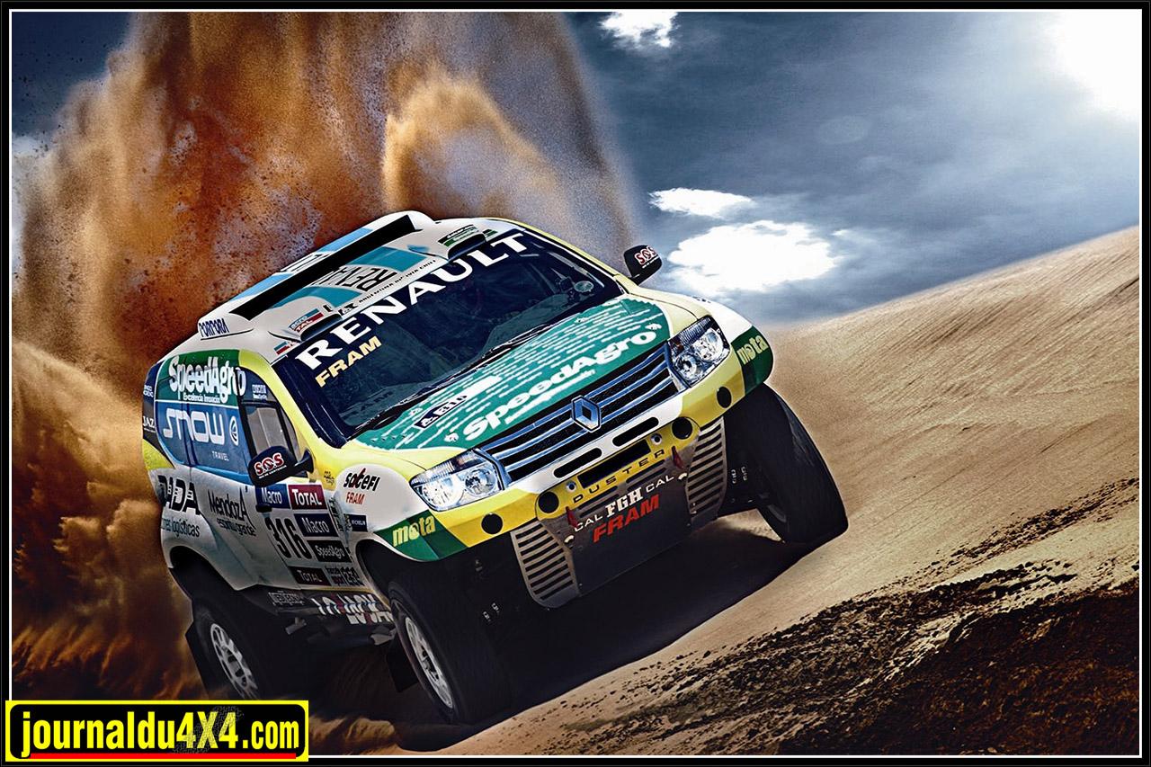 Renault Duster 4x4 Team au Rallye Dakar 2015