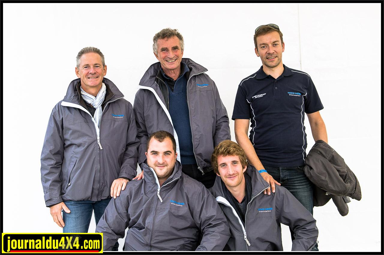 Bruno Mazzacurati encadré par Julien Coupechoux et Philippe Widmer. En bas, deux de ses fils Ronan et Axel travaillant dans la direction commerciale