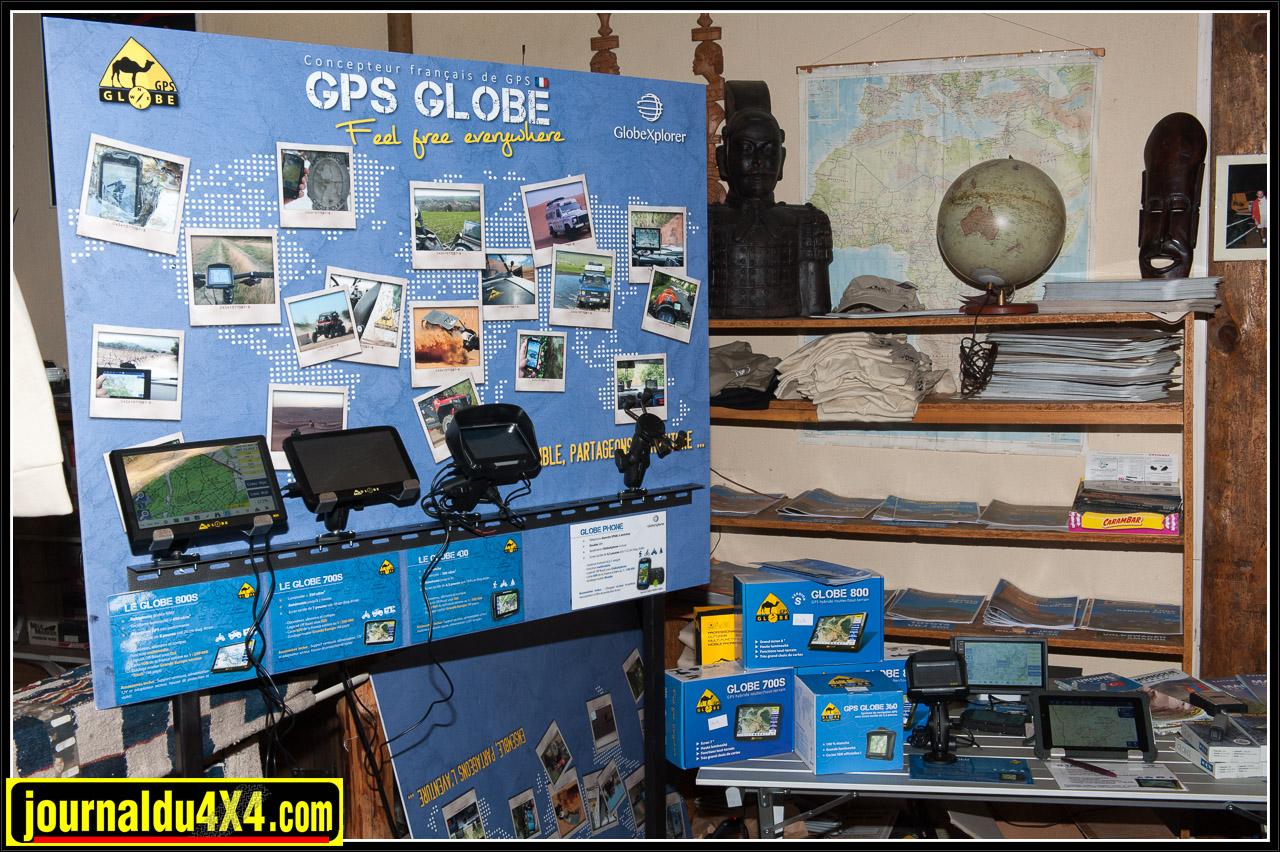 Tous les produits GPS Globe étaient exposés