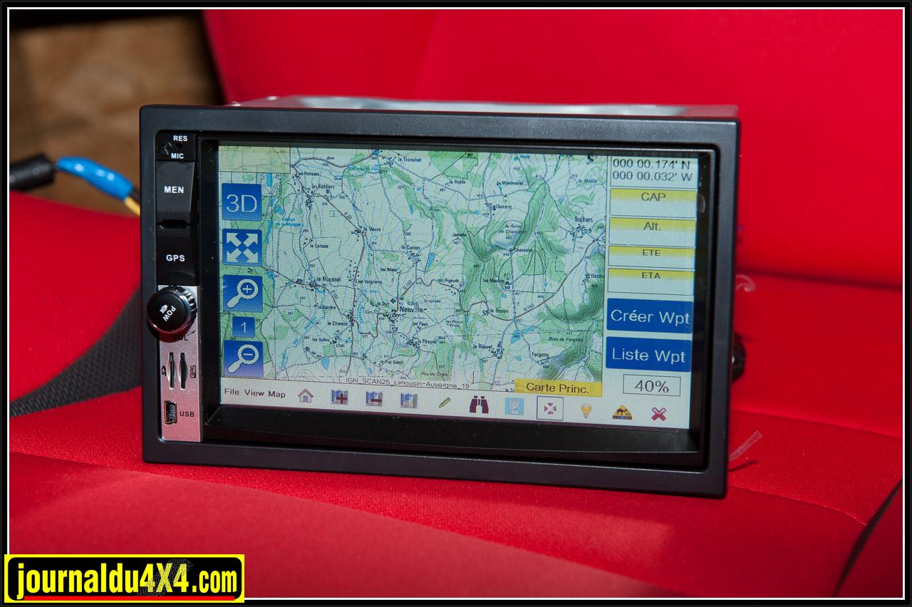 Le dernier né de GPS Globe, un autoradio multimédia intégrant toutes les fonctions GPS bien connues