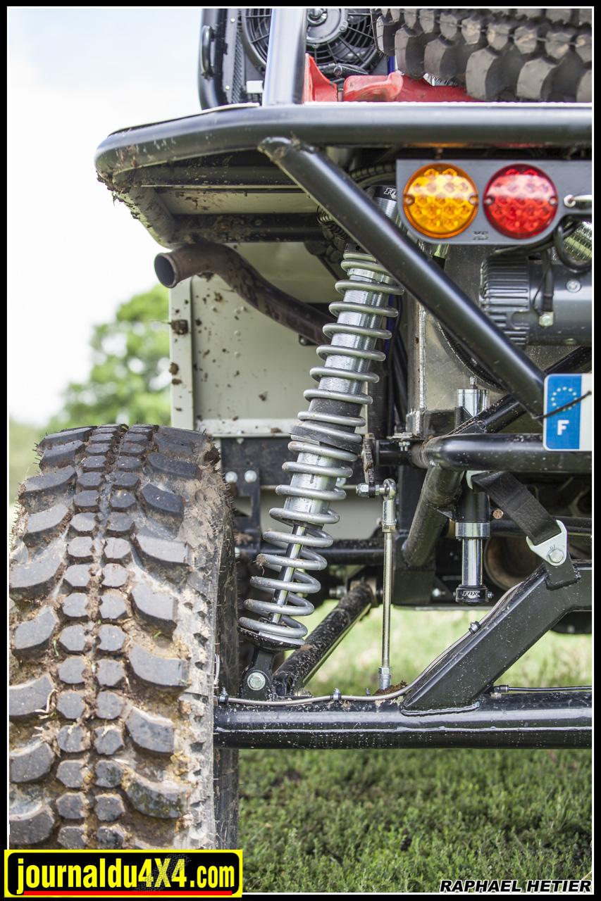la suspension arrière