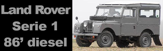 Land Rover 86' Serie 1 diesel