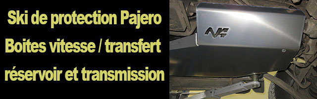 Ski de protection PAJERO III / IV