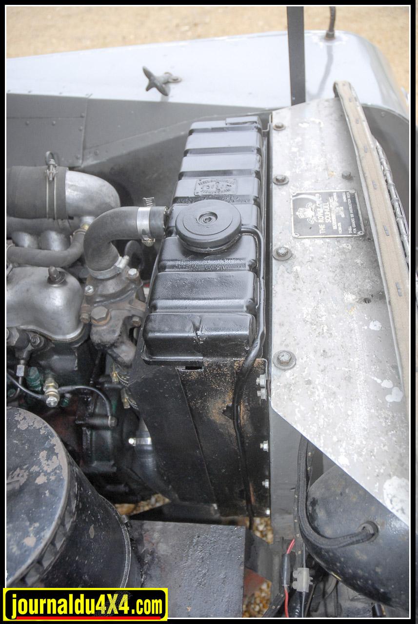 Le radiateur a été remis à neuf suite au bris d'une pale de ventilateur.