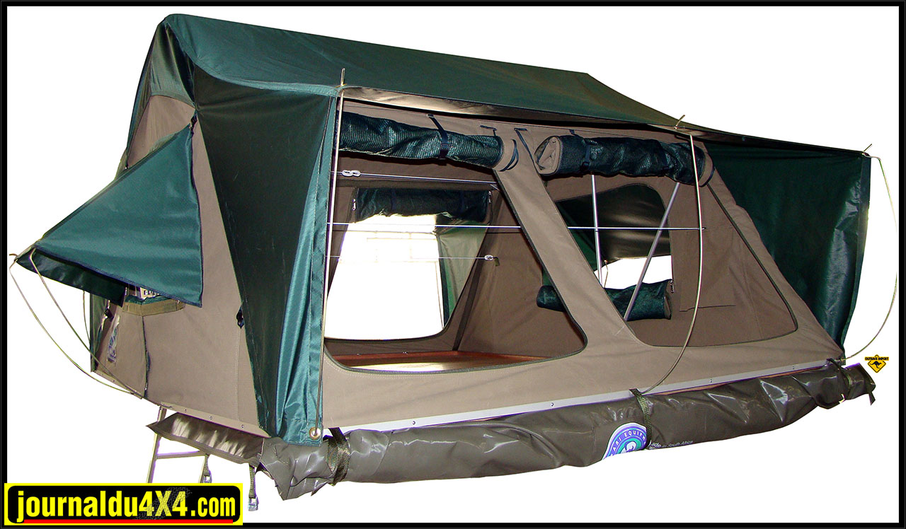 Tente de toit HANNIBAL 1,20m / 1,4m / 1,6m