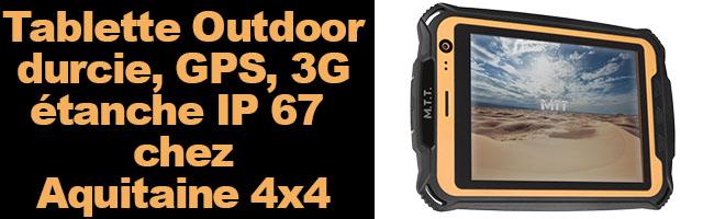 M.T.T. TABLET 3G  La première tablette 3G outdoor