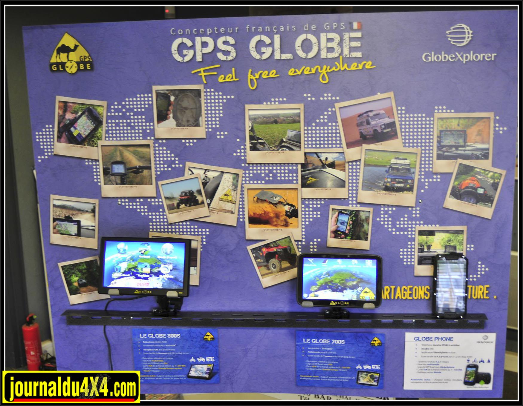 GPS, tablettes Globe - loisir Evasion