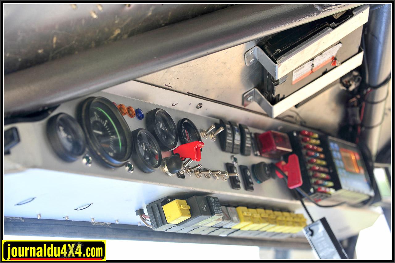 L'ensemble des fusibles et relais est facilement accessible.