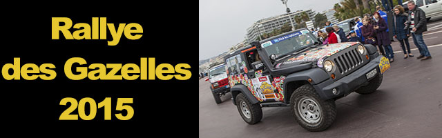 Rallye des Gazelles 2015 (départ)