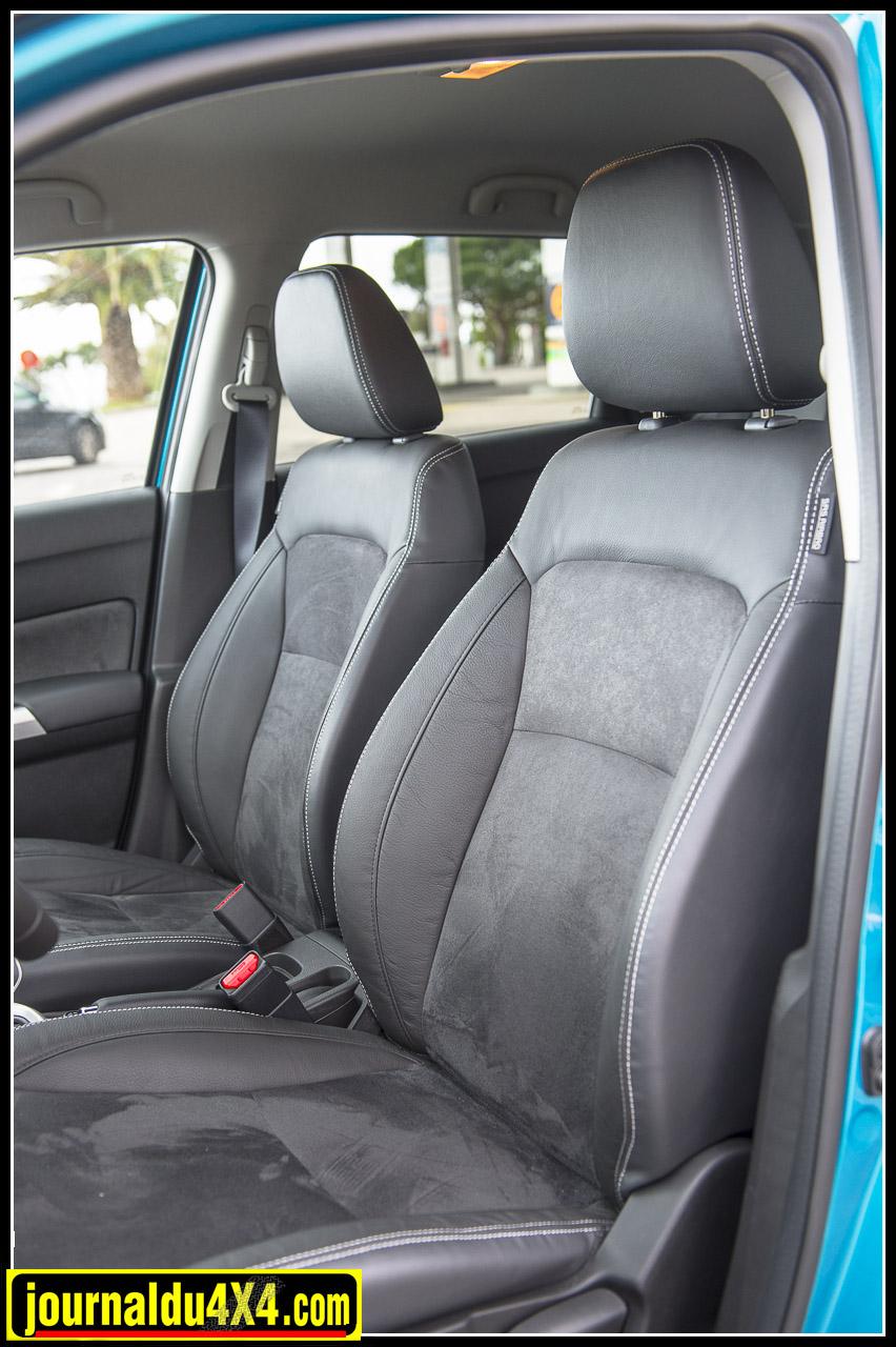Les sièges sont confortables on peut y rouler pendant longtemps sans se sentir las