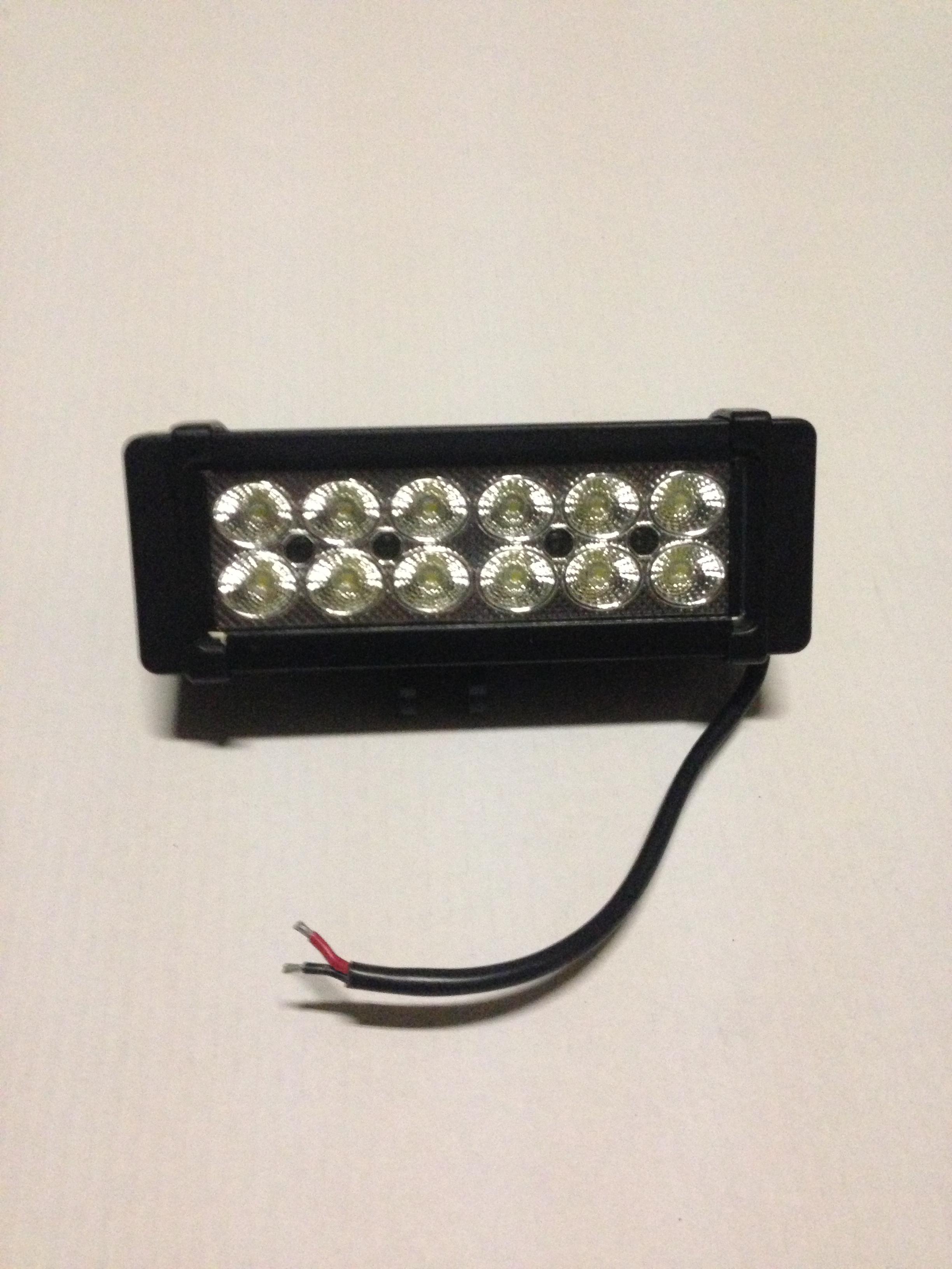 barre 12 LED 36 Watts