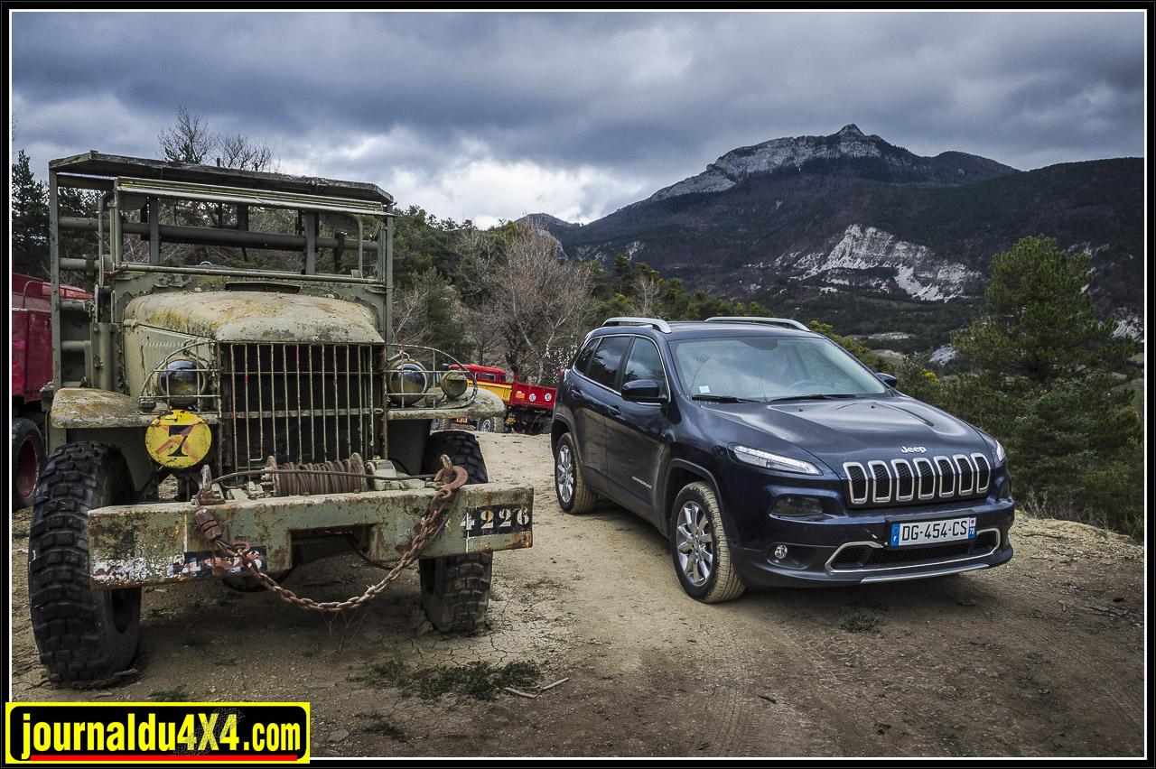 essai Jeep Cherokee 4x4 Limited 2.0l 140 ch