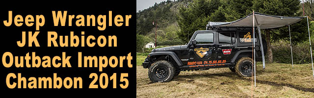 Jeep Outbak Import à Chambon
