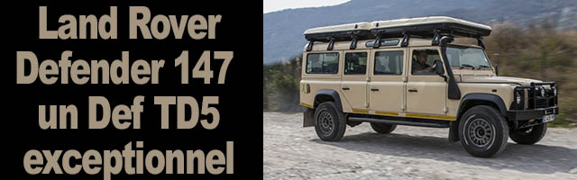 Defender 147 Land Rover XXL