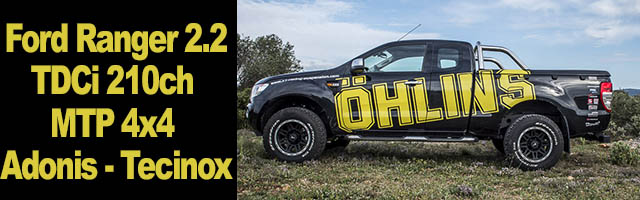 Ford Ranger 2.2 TDCi 210ch MTP 4×4 – Adonis – Tecinox