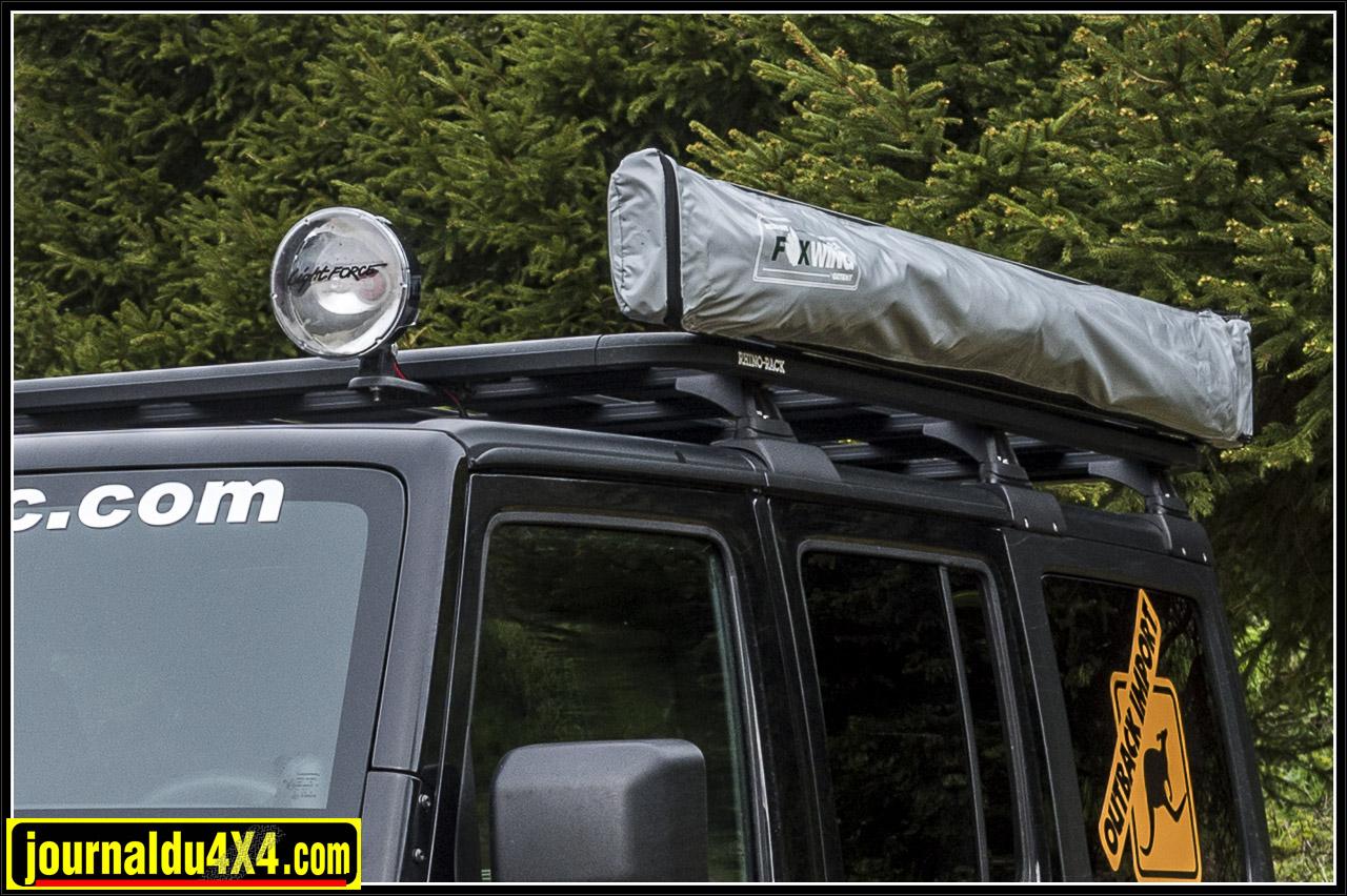 Barres de toit Rhino Rack avec nouveau kit de fixation sur hard top permettant de recevoir 120kg