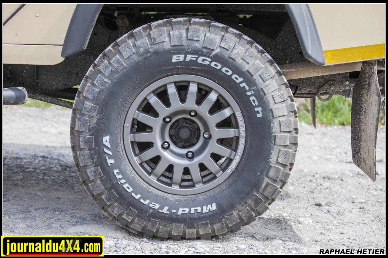 Jantes Dakar 16X7 avec BF KM² 255/85 R16
