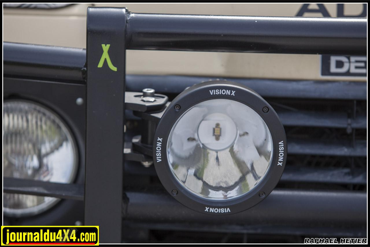 2 Cannon 50W de chez Vision X