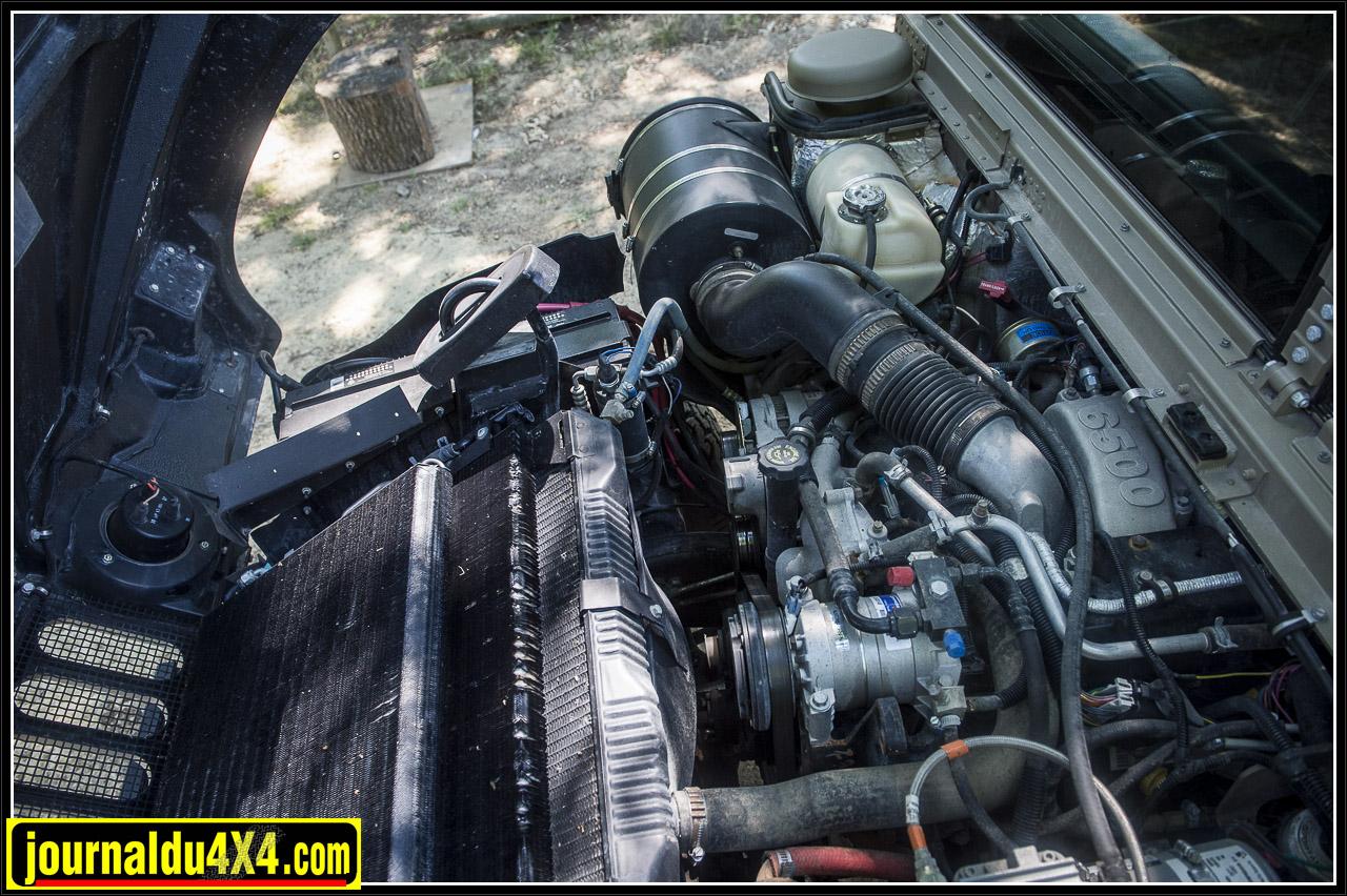 V8 diesel 6.5l 220 ch