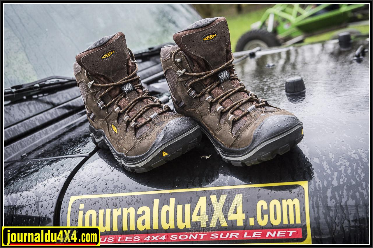 KEEN Durand : des chaussures de baroudeur