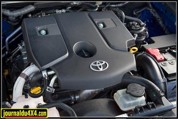 Moteur encapsulé : bruit en baisse. Les cylindrées  diesel ont été réduites mais les performances sont à la hausse.