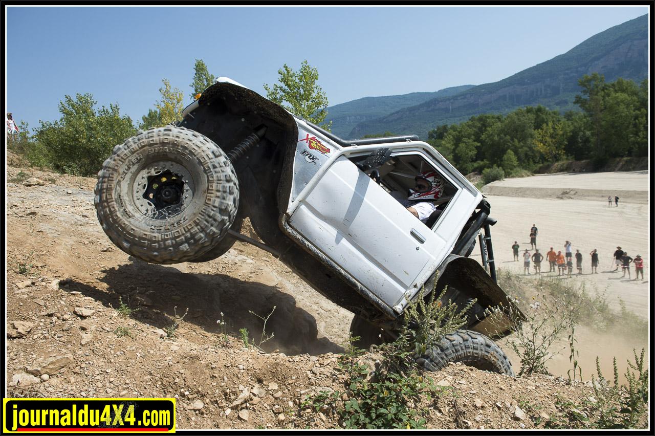 même en 4x4 la montée camion n'est pas impossible