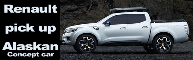 Renault Alaskan Pick Up Concept
