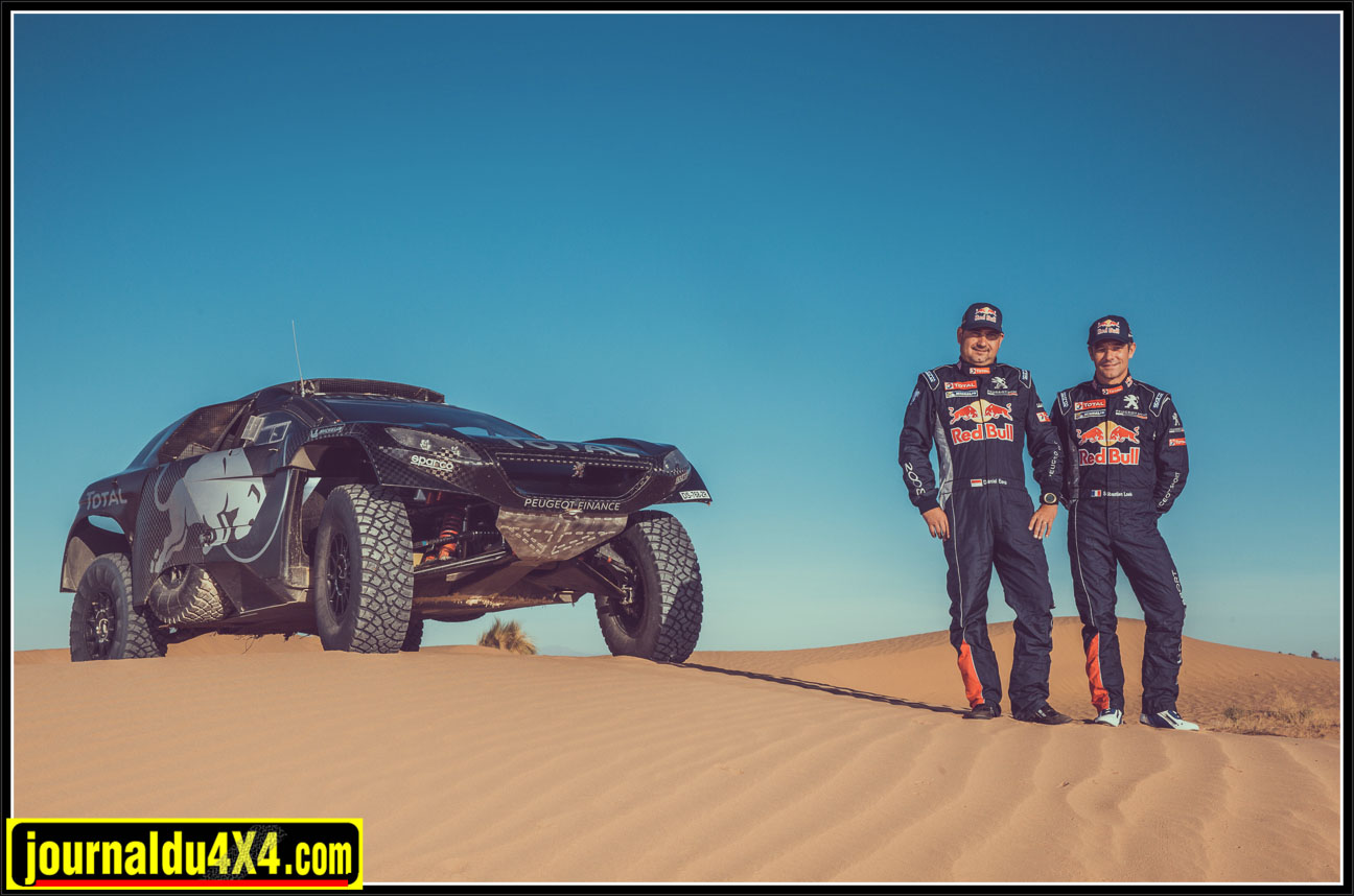 Sébastien loeb au Dakar 2016 avec Peugeot