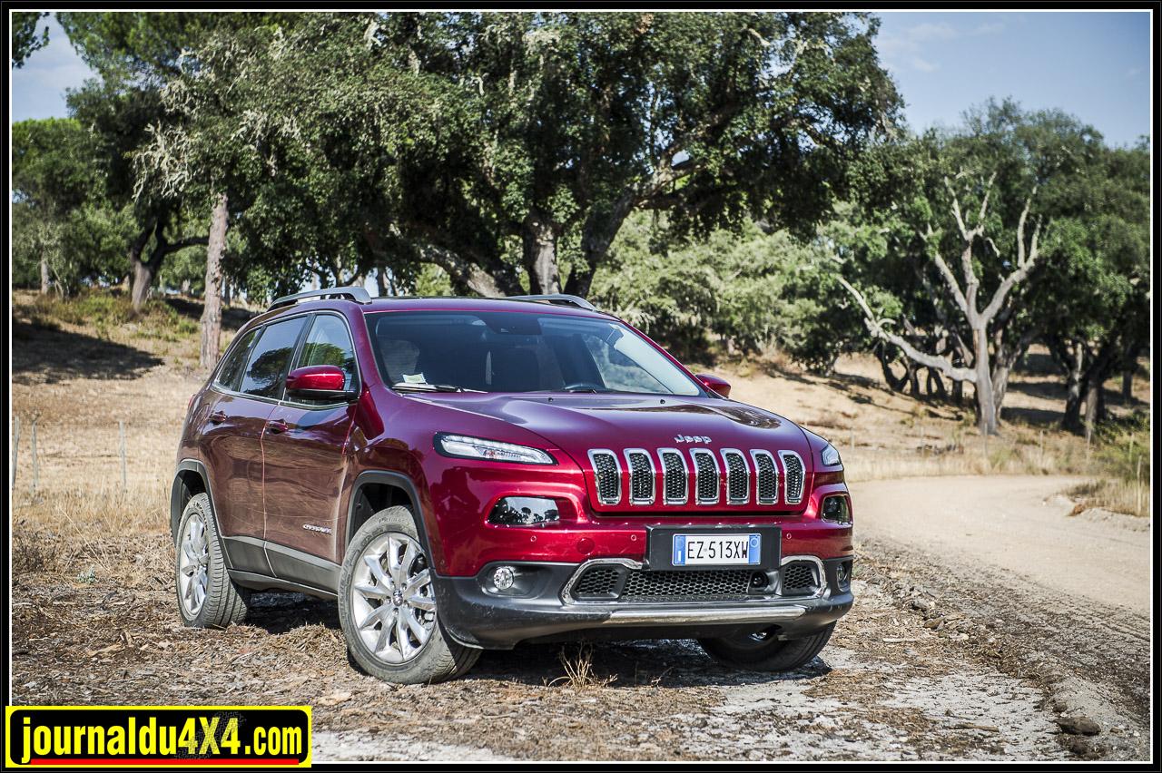 Jeep Cherokee 2.2 Multijet nouvelles motorisations