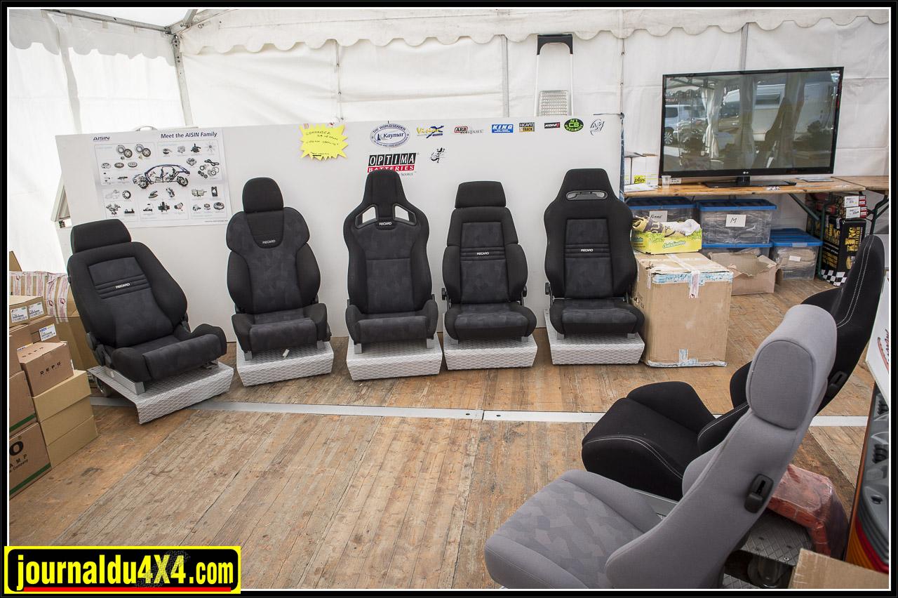 sièges Recaro