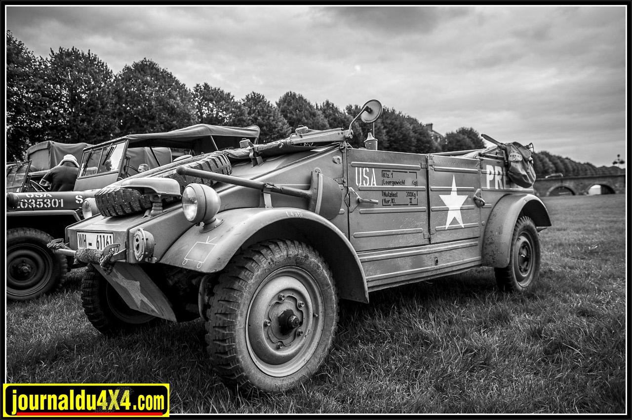 Lili :une Kubel Wagen récupérée par les troupes US pour en faire un véhicule de presse