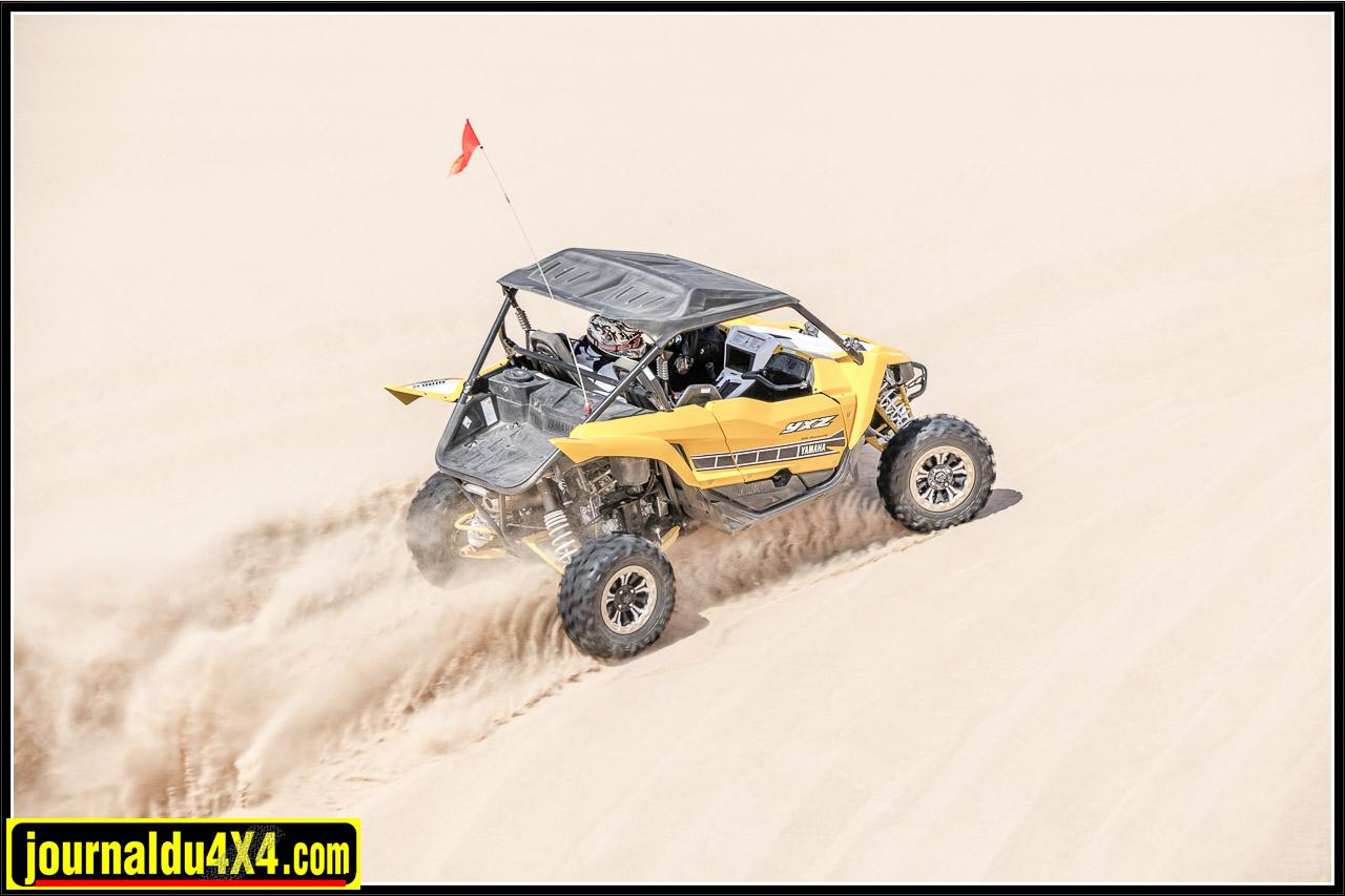 et c'est parti pour un tour dans les dunes !