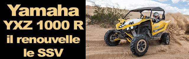 Yamaha YXZ 1000 R renouvelle le SSV